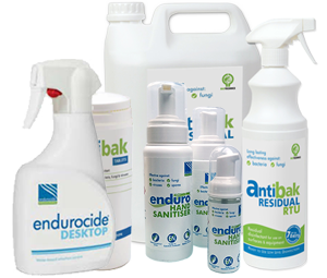 Endurocide Sanitisers and Disinfectants